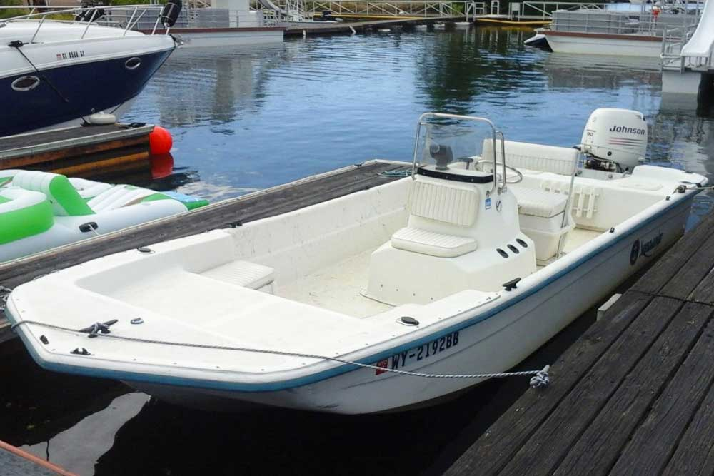 Boat rentals inlet bay marina for Jet fishing boat