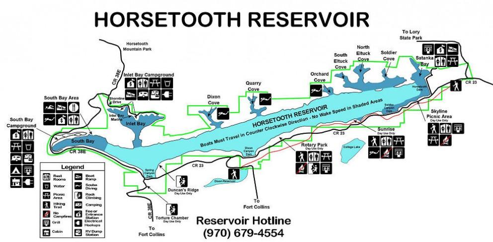 About Horsetooth - Inlet Bay Marina